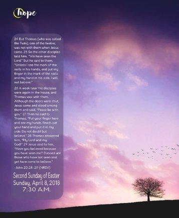 04_08_2018 Bulletin 0730 Service