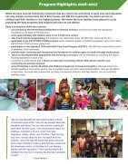 Early Connections Annual Report 2016-2017 - Page 4