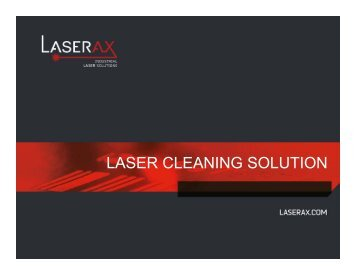 Laser cleaning solution