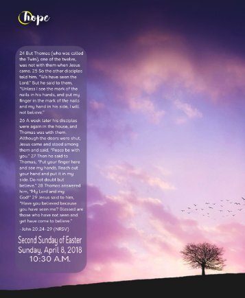 04_08_2018 Bulletin 1030 Service