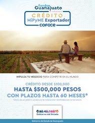 Crédito MiPyME Exportador - Fondos Guanajuato