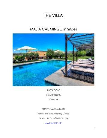 Masia Cal Mingo - Sitges