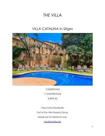 Villa Catalina - Sitges