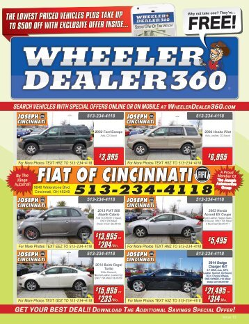 Wheeler Dealer 360 Issue 15, 2018