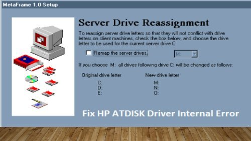 Dial 1-800-597-1052 Fix HP ATDISK Driver Internal Error