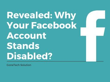 Disabled Facebook Account - 2018 | You Should Not Miss!!!