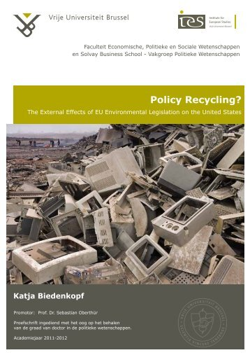Policy Recycling? - The Institute for European Studies