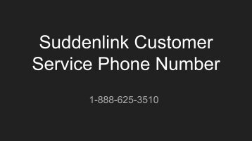 Suddenlink Customer Service Phone Number