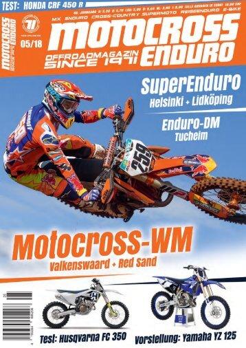 Motocross Enduro Ausgabe 05/2018