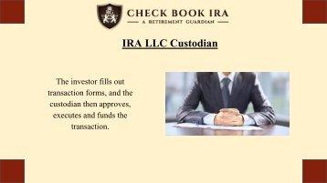 Real Estate IRA LLC | Check Book IRA LLC
