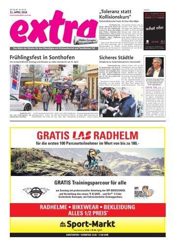 extra Immenstadt, vom Mittwoch 11. April 2018