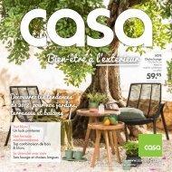 Casa catalogue 15 mars-30 septembre 2018
