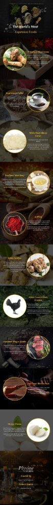 The World's Most Expensive Foods