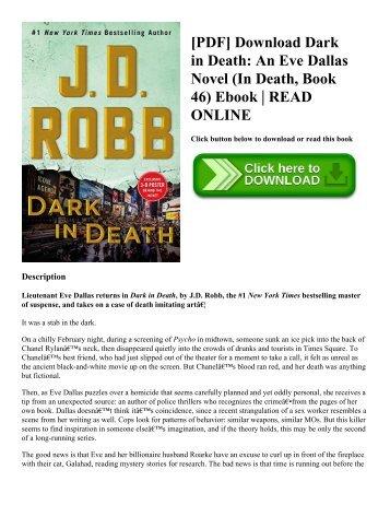 [PDF] Download Dark in Death An Eve Dallas Novel (In Death  Book 46) Ebook  READ ONLINE