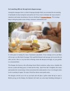 Improve Your Performance By Different Types Of Massage Therapy - Page 2