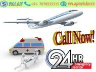 Avail the Benefits of Air Ambulance from Bangalore to Delhi