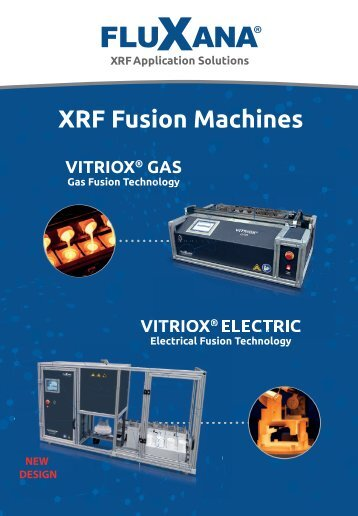 Fluxana XRF Fusion Machines Vitriox Electric