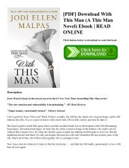 [PDF] Download With This Man (A This Man Novel) Ebook  READ ONLINE