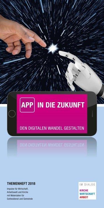 App in die Zukunft - den digitalen Wandel gestalten