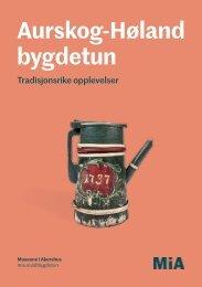 Aurskog-Høland bygdetun program 2018