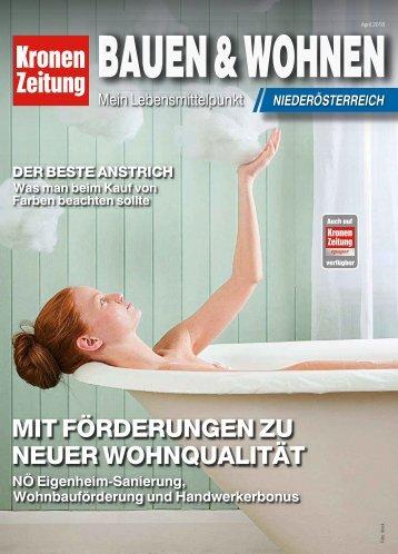 Bauen & Wohnen NÖ 2018-04-08