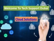 Get The Best Cloud Solution in Dubai ,  Dial - 0502053269