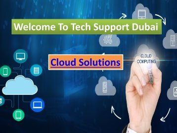 Get The Best Cloud Solution in Dubai ,  Dial - 0502053269