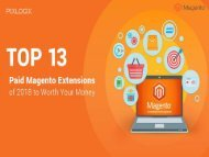Top 13 Magento Paid Extensions for Your E-Commerce Store/Website