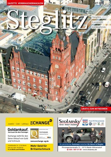 Gazette Steglitz April 2016