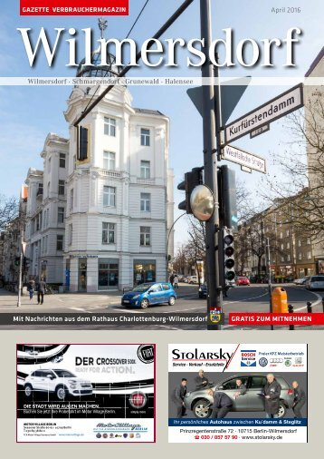 Gazette Wilmersdorf April 2016