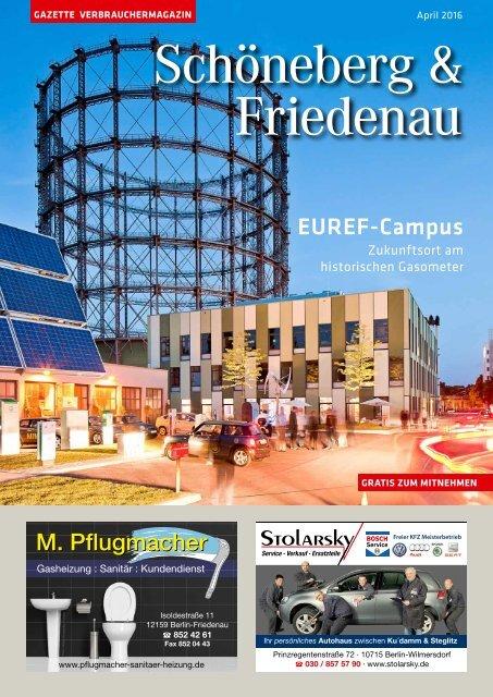 Gazette Schöneberg & Friedenau April 2016
