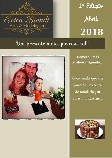 Revista Virtual Edição abril 2018 - Arte & Modelagem