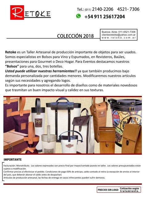 Retoke catalogo 2018