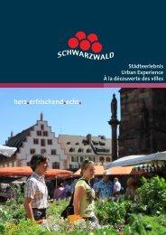 Städtebroschüre Schwarzwald