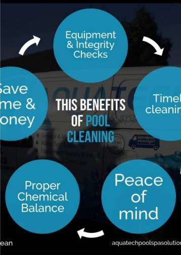 The benefits of pool cleaning
