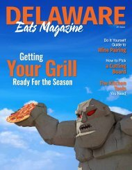 Delaware Eats Magazine_First Issue