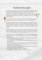 Vegetarisches Kochbuch Leseprobe - Seite 6