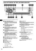 Sony CDX-C880R - CDX-C880R Istruzioni per l'uso Tedesco - Page 4