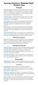 Extreme Pack Car Wash Chemical Concentrates - Page 2