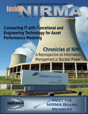 Inside NIRMA - Spring March 2018 Issue
