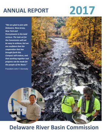 2017 Annual Report of the Delaware River Basin Commission