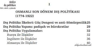 DİLŞAH SELEN OCAK DIŞ POLİTİKA