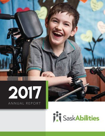 SaskAbilities Annual Report 2017