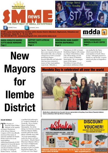 SMME NEWS - JUL 2016 ISSUE