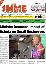 SMME NEWS - MAR 2018 ISSUE