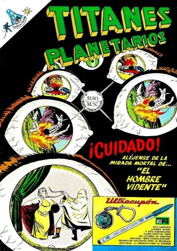 TITANES PLANETARIOS -N°268 - 1967