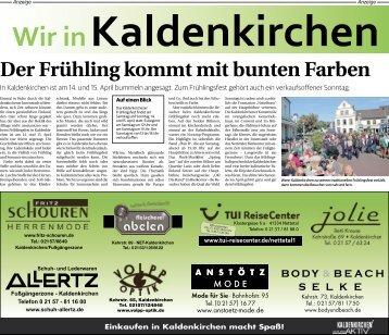 Wir in Kaldenkirchen  -12.04.2018-