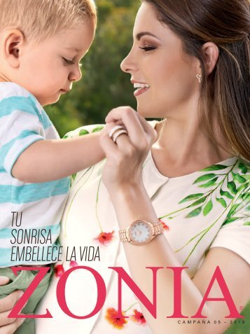 Zonia - Tu sonrisa embellece la vida