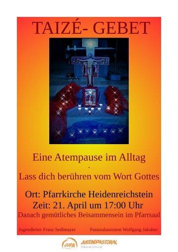 Plakat Hstein 21.4.18