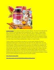 Turmeric Forskolin - Review